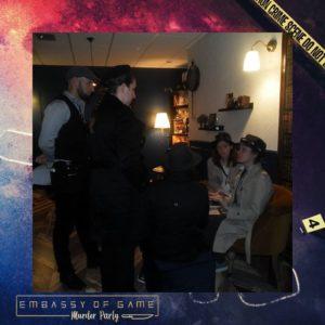 photo des enquêteurs venus résoudre l'enquête les gardiens du temps à halloween 2019