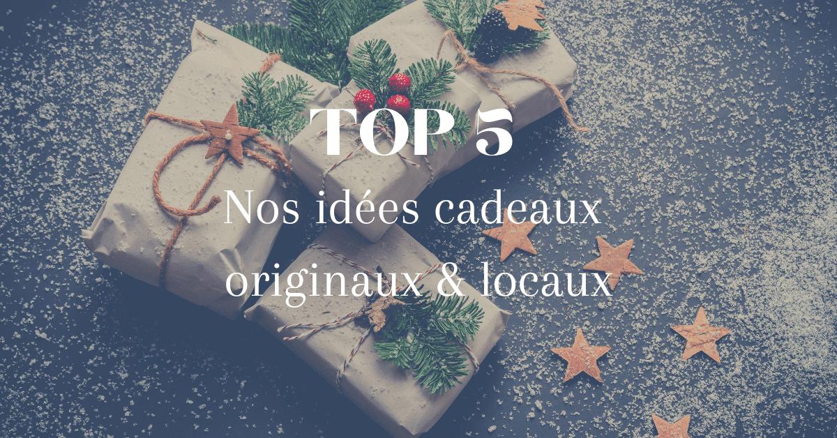 Nos idées cadeaux de Noël ! Dénichez des cadeaux originaux et locaux